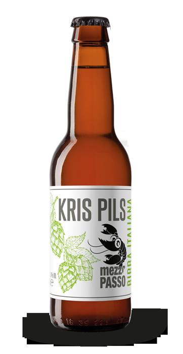 Kris Pilsner - Mezzopasso - Birra Italiana