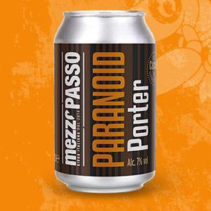 Paranoid Porter - Mezzopasso - Birra Italiana